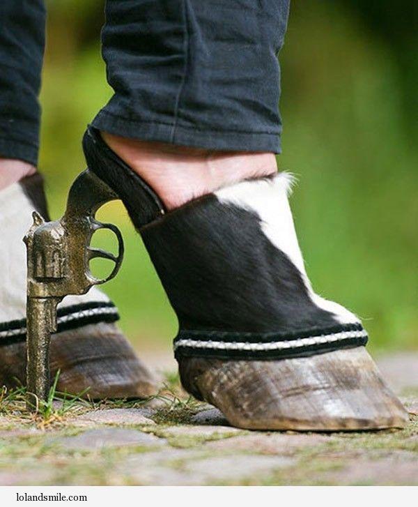 Crazy High Heel Shoes lol :)