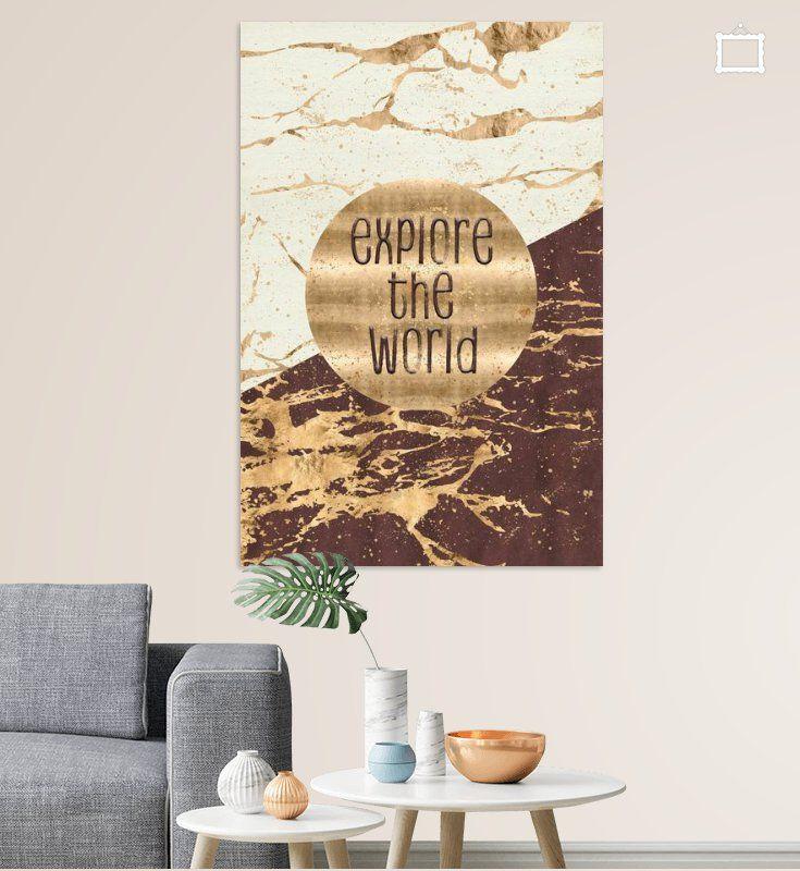 graphic art explore the world poster melanie viola ohmyprints bestellen leinwand mit rahmen bild auf drucken