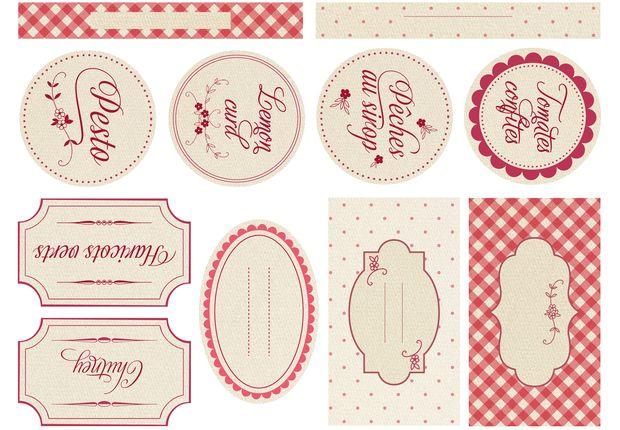 Pour styliser et moderniser vos bocaux et confitures, découvrez nos étiquettes hyper tendances.