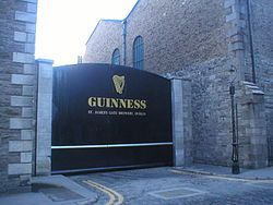 Guinness Factory, Dublin, Ireland! - home of the greatest beer EVER! (witnessed 17 March 2008)