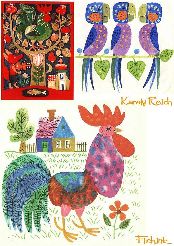 Karoly Reich . Hungarian Illustrator