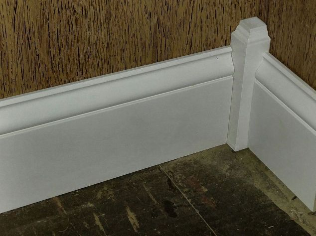 dress up corners with handmade plinth blocks, painted furniture, painting, wall decor, woodworking projects