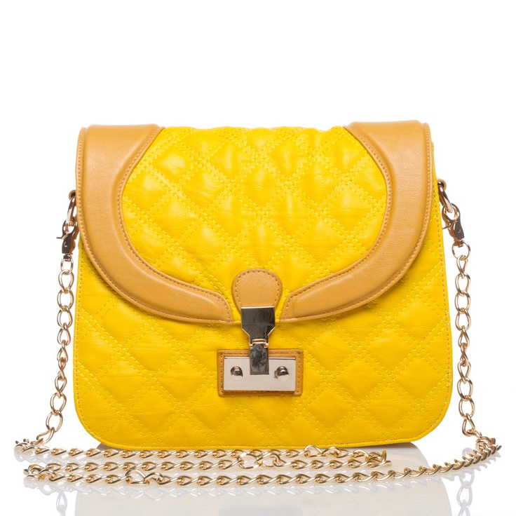 #bright #yellowYellow Sunshine, Yellow, Hello Yellow, Bags Clutches, Bags Envy, Bags Bags, Purses Bags Back, Bright Yellow, Sunny Yellow