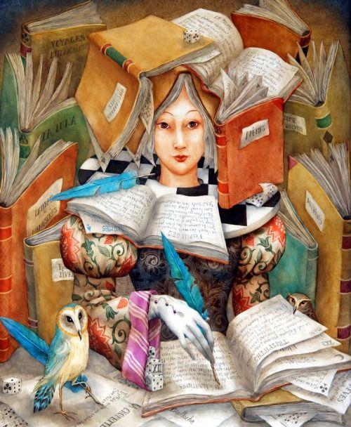 Vaya bibliotecaria!!! (ilustración de Agnes Boulloche)