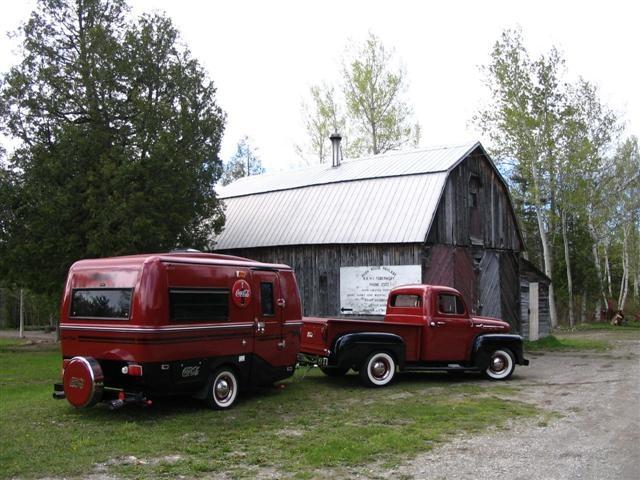 Coca-cola boler and Ford? truck.