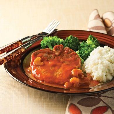 Côtelettes de porc barbecue à la mijoteuse - Recettes - Cuisine et nutrition - Pratico Pratique