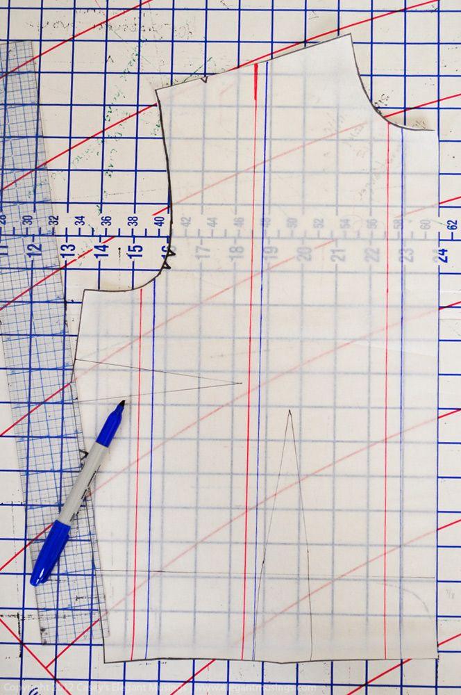 Good tutorial for pattern grading.