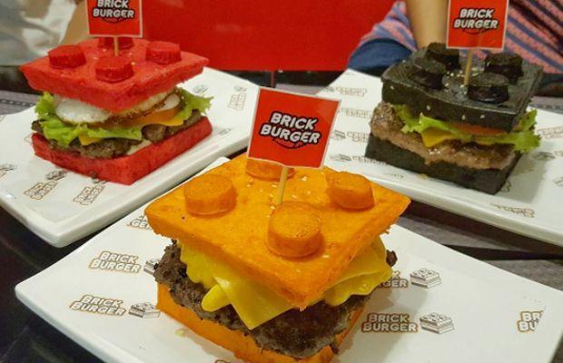 Brick Burger - hambúrgueres Lego