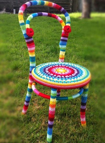 vrolijke stoel