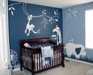 Cuartos de bebé en azul