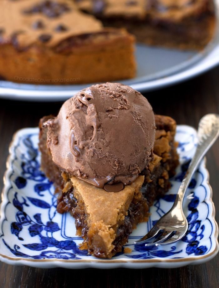Makeout Chocolate Chip Cookie Pie Chocolate Covered Katie Chocolate Chip Cookie Pie Deep Dish Cookie Deep Dish Cookie Pie