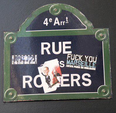 La rue des Rosiers  (Paris 4ème)