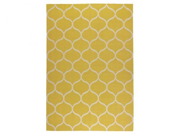 Les 25 meilleures id es de la cat gorie tapis jaune sur pinterest coussins - Tapis carres multicolores ...