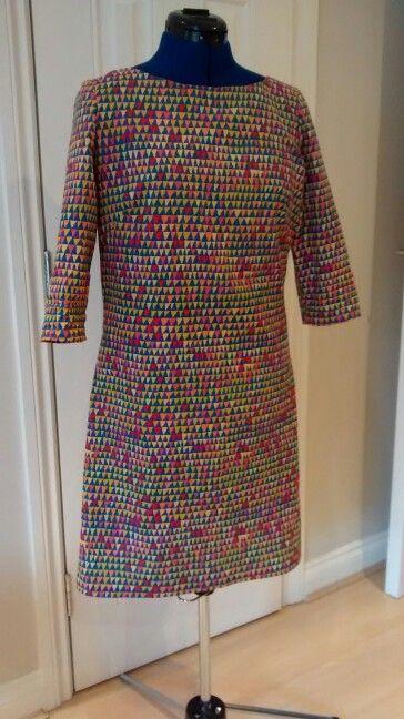 Mmmay'15 8th may - shift dress New Look 6145.