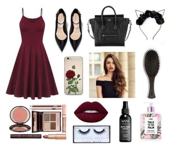 """""""🦄"""" by polivoreaddicted on Polyvore featuring Oribe, Charlotte Tilbury e Huda Beauty"""