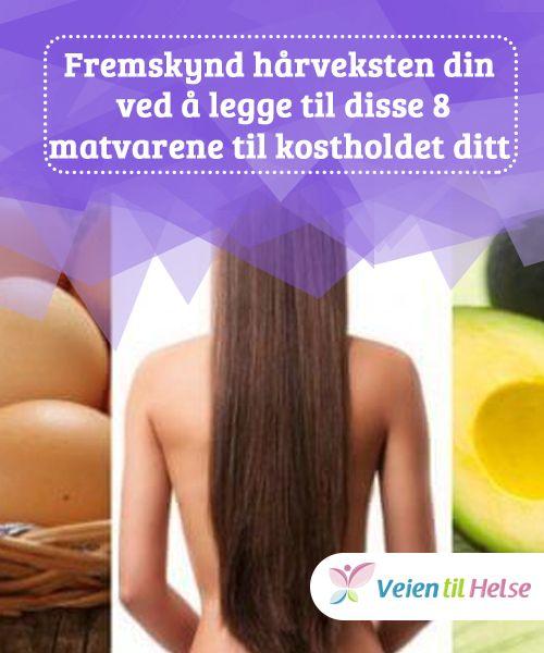 Fremskynd hårveksten din ved å legge til disse 8 matvarene til kostholdet ditt  For å stimulere hårvekst må du #spise mat som ikke bare gir deg #ernæringsmessige fordeler, men som også #hjelper deg med å redusere svakhet og brudd i håret. Prøv #disse sunne matvarene!