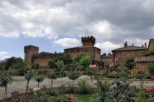 Spedaletti Castle, Tuscany - by EdSalz, via Flickr