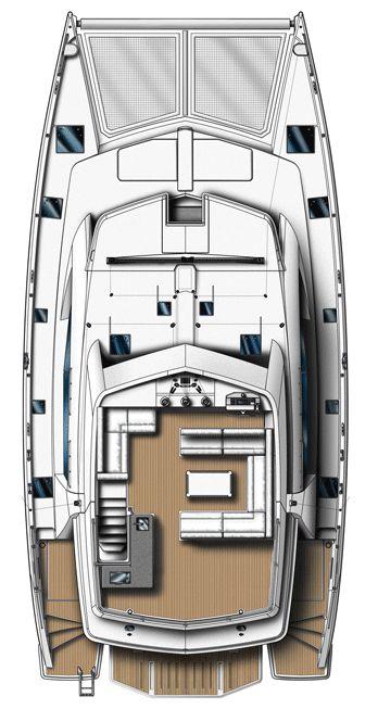 Leopard 58 4 Cabin