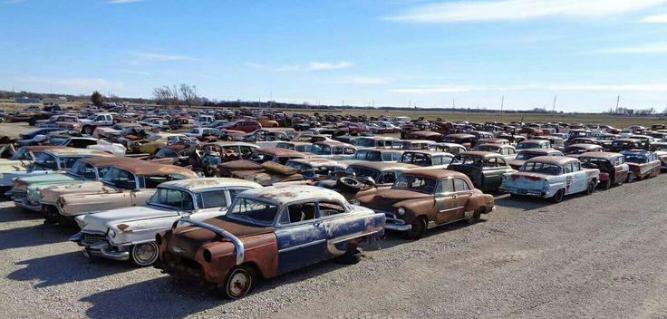 Pin by David Ferriera on Junk yards Wrecking yards