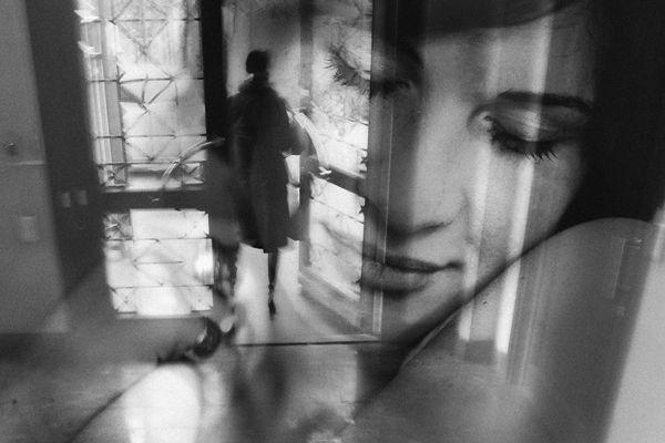 'Double exposures' by Georgian photographer Tina Kazakhishvili.