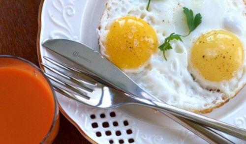 Просто очень вкусная яичница