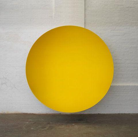 .: Art Illustrations, Photography Art Patterns, Art Vol01, Kapoor Shelters, Yellow Circles, Start Posts, Art Modern, Anish Kapoor, Colors Yellow