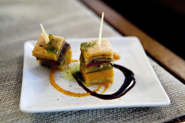 millefeuille of grilled vegetables