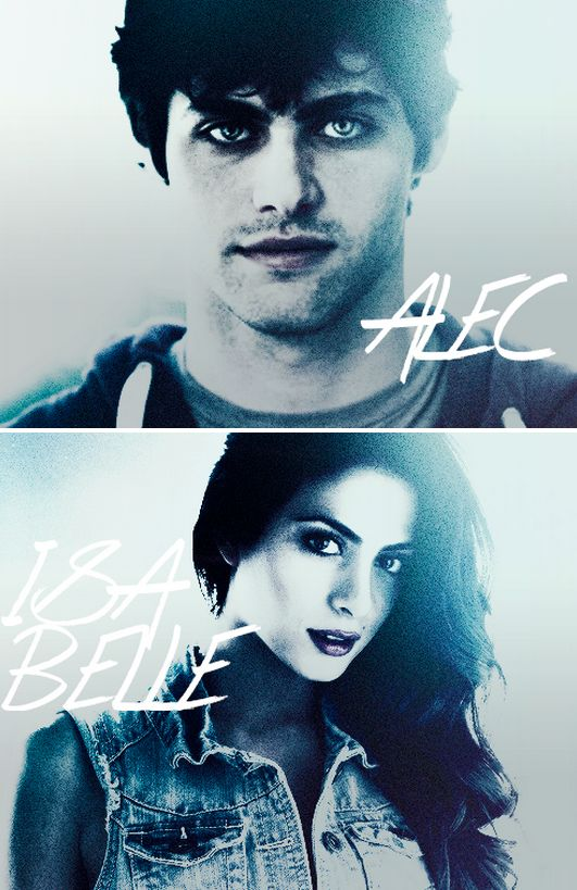 Alec & Isabelle #ShadowhuntersTV