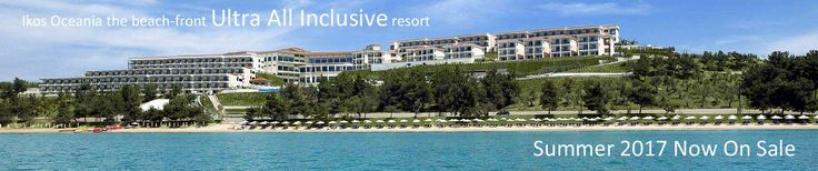 The 5-Star Ikos Oceania Hotel formally known as The Oceania Club and Spa is an inclusive resort in Greece - Ikos Oceania Hotel Booking  - Ikos Oceania Halkidiki Offers, Ikos Oceania Halkidiki Packages, Ikos Oceania Halkidiki Special Offers UK, Ikos Oceani