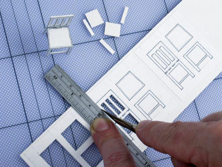 Foam Board Mini Houses : 'model making basics fine construction doll houses