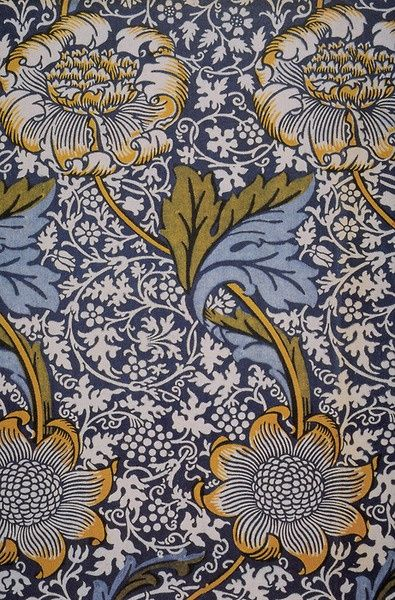 William Morris's name and reputation are indissolubly linked to wallpaper design, but there is a tendency to over-estimate the influence he had in this field, at least in his own lifetime. In fact, despite his much repeated belief in 'art for all', his wallpapers, like most of the products of Morris & Co., were hand-made and expensive, and consequently had a relatively limited take-up.