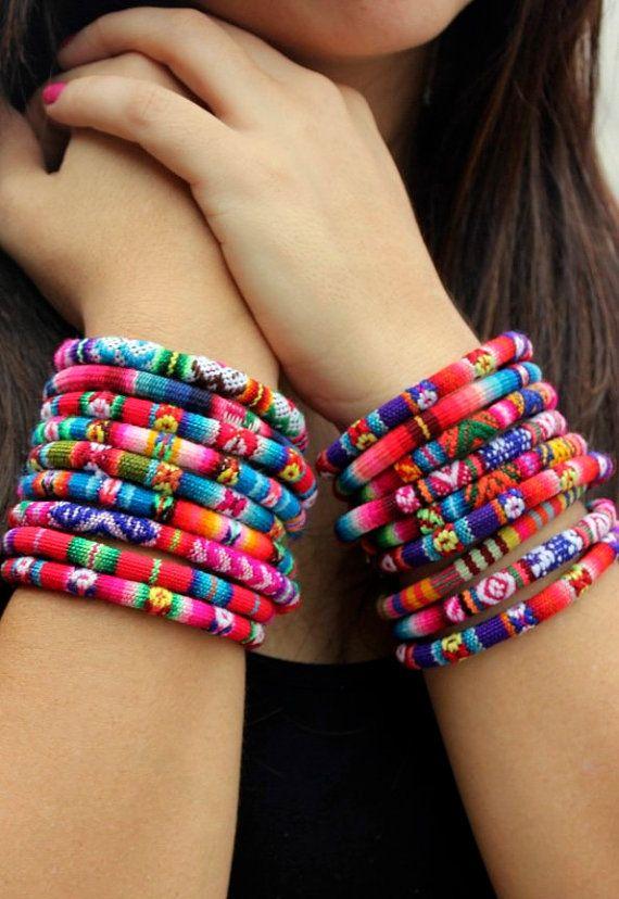 Peruvian Bracelet by KusiPeru on Etsy, $9.00