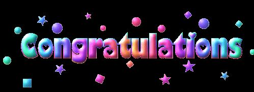 congratulations - animated giff