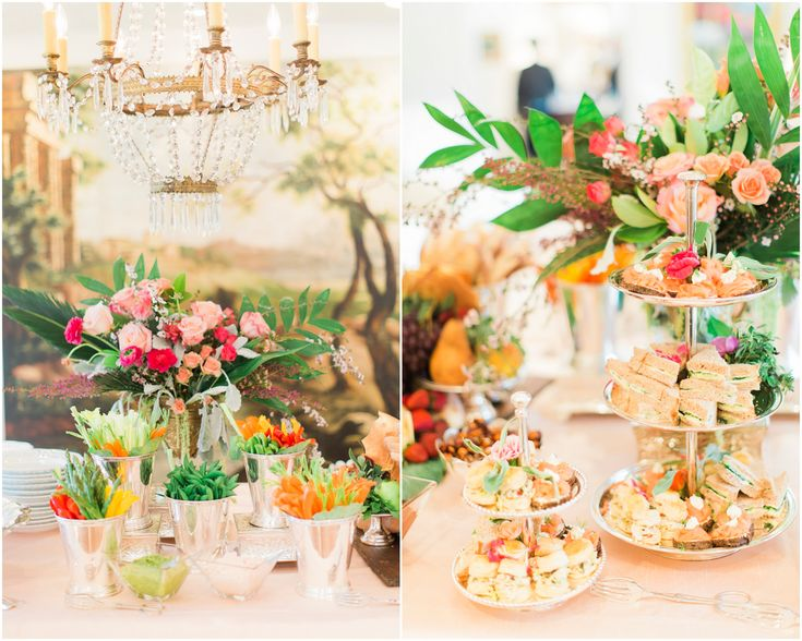 Good Ideas For Food Spreads At Wedding