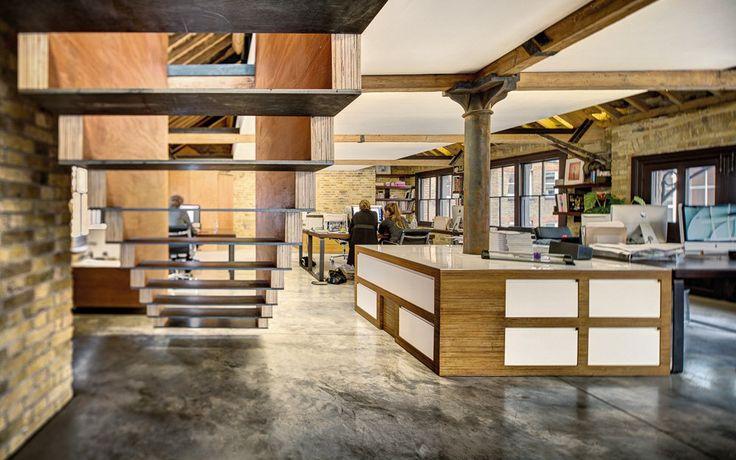 Londyn bez granic: stary, przemysłowy biurowiec przekształcony w nowoczesne miejsce pracy