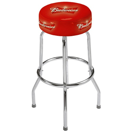Budweiser Swivel Bar Stool Budweiser Pinterest Bar