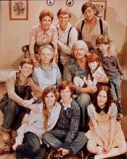 The Waltons, a show that has really held up over time. I didn't notice when I was a kid that the Walton Boys were cute. #favorite