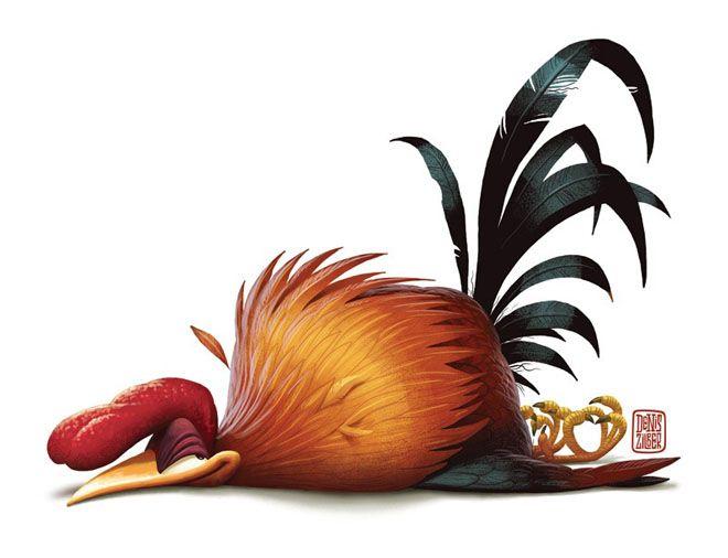 25 Funny Digital Art works and Character Designs by Denis Zilber | Read full article: http://webneel.com/25-funny-digital-art-works-and-character-designs-denis-zilber | more http://webneel.com/digital-art | Follow us www.pinterest.com/webneel