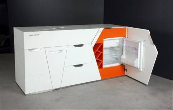 Toll Revolutionary Innovation Kitchen Orange And White Creative ...   Furniture    Pinterest