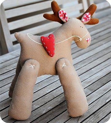 { Le coccole creative }: Tilda reindeer