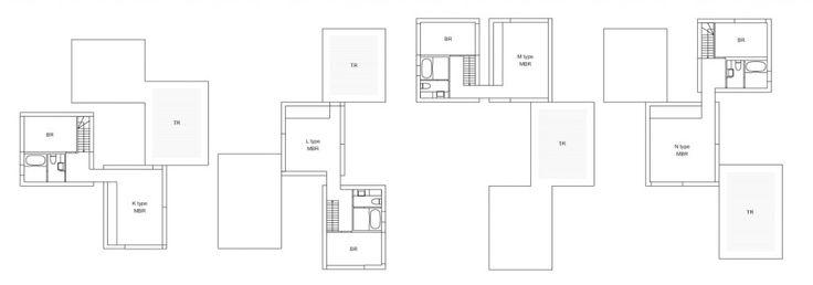 Image on Archisquare • Architettura Design Blog  http://www.archisquare.it/kazuyo-sejima-complesso-residenziale-a-seijo-tokyo/