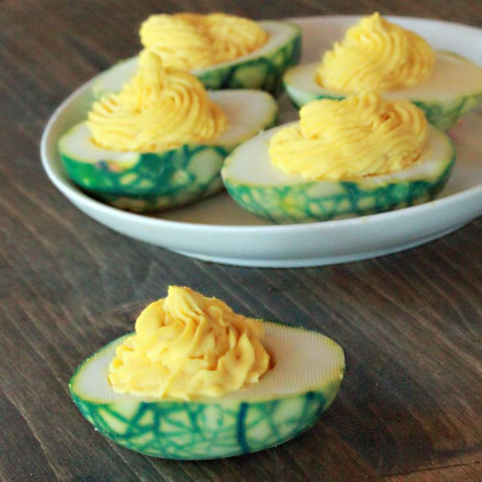 Green (Deviled) Eggs and (No) Ham:  Happy Birthday, Dr. Seuss! #DrSeuss