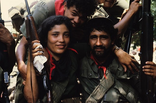 Triunfant Sandinistas Entering Managua, 1979 by Marcelo  Montecino, via Flickr