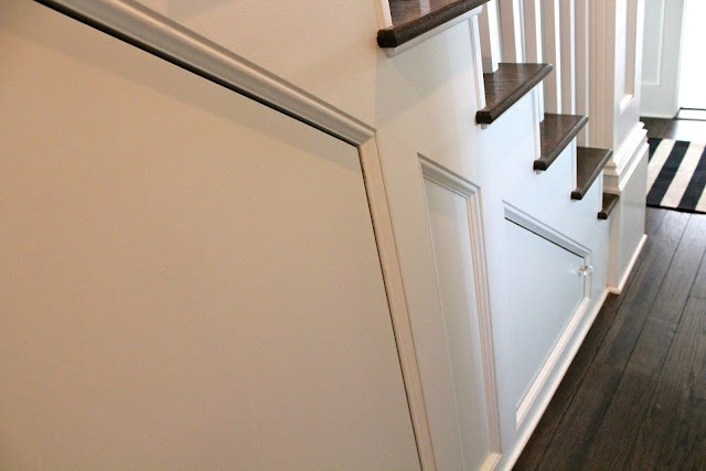 custom cabinets under the stairs