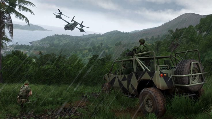 ArmA 3 Apex Is DIY Jungle Warfare - Kotaku - http://coolnerd.co/2016/07/arma-3-apex-is-diy-jungle-warfare-kotaku/