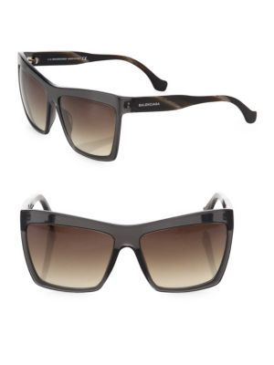 BALENCIAGA 60MM Oversize Square Sunglasses. #balenciaga #sunglasses