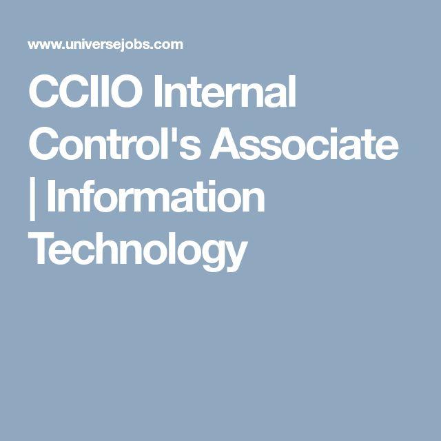 CCIIO Internal Control's Associate | Information Technology