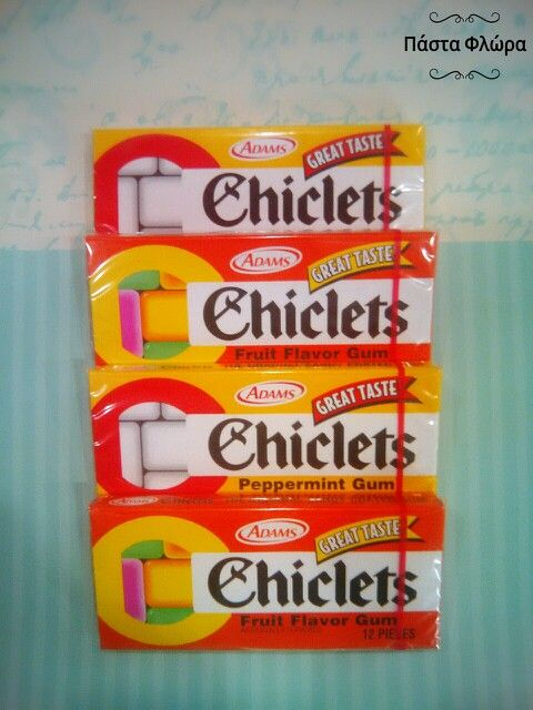Chiclets!