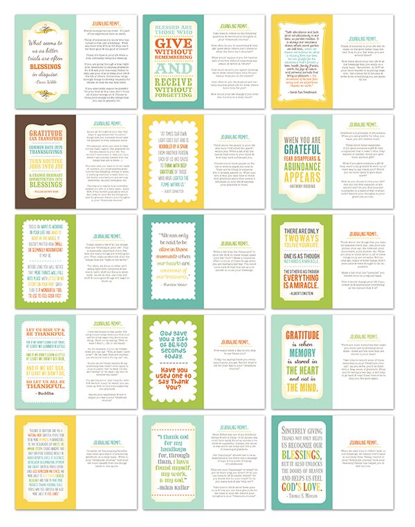 gratitude quotes and journal prompts