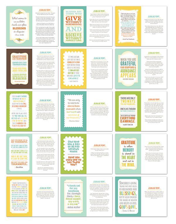 Grateful Journal quotes
